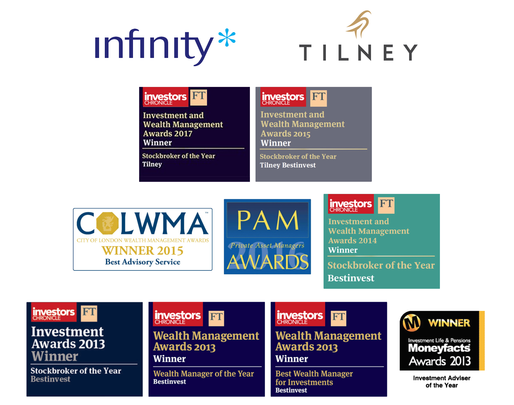 Tilney Awards - with Logos 2017